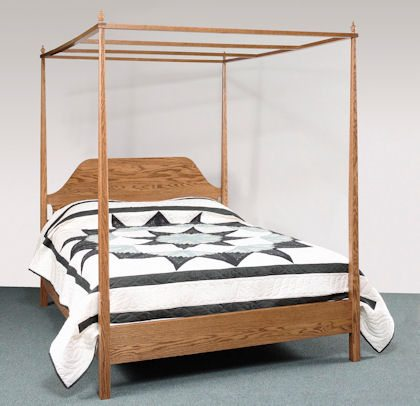 Sheffield Bedroom Collection Canopy Bed
