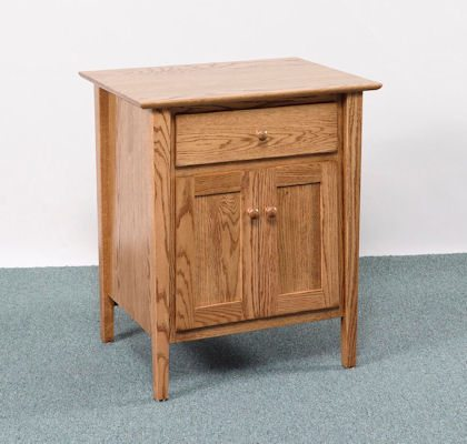 Sheffield Bedroom Collection 2 Door Nightstand