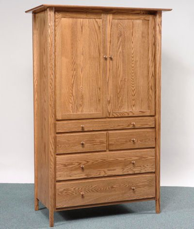 Sheffield Bedroom Collection Tray Armoire