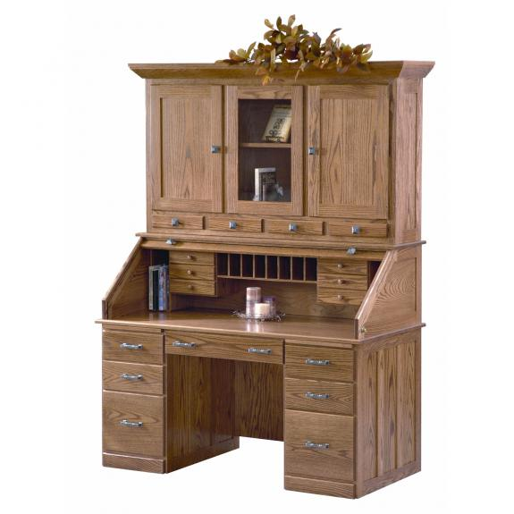 SIR3060WH Sierra Rolltop with Hutch