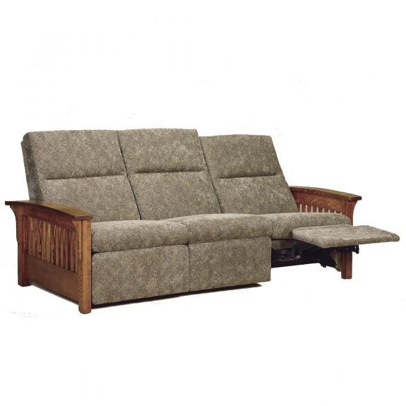 Skyline Slat Reclining Sofa, Reclining Loveseat