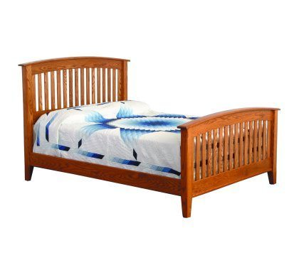 Westview Shaker Bedroom Set Slat Bed