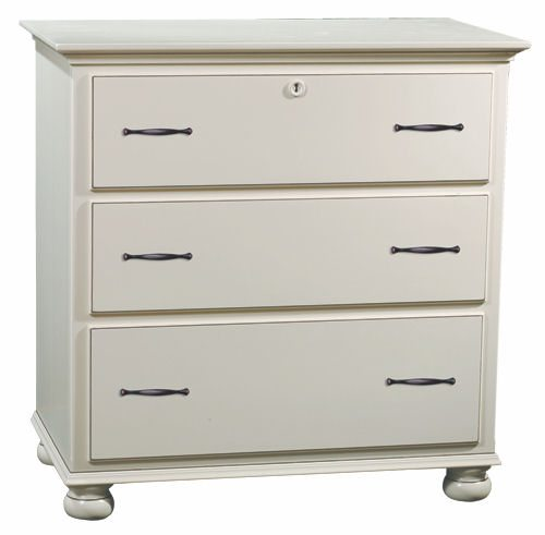 LE White Bedroom Set LE-323 Small Dresser