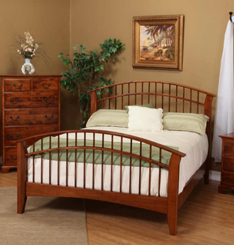 Sonora Bedroom Collection LE-481Q Dowel Bed
