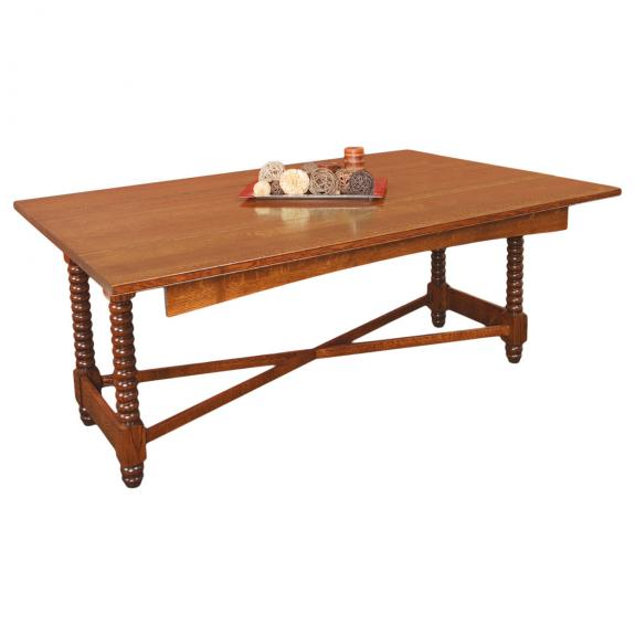 Sophia Dining Room Collection G15 702 Trestle Table