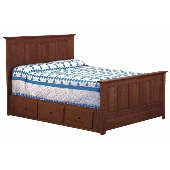 SO-1051 Springfield Storage Bed