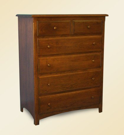Spring View Bedroom Furniture 6 Drawer Chest