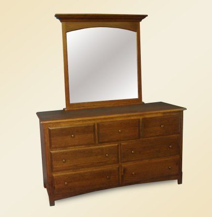 Spring View Bedroom Furniture Double Dresser