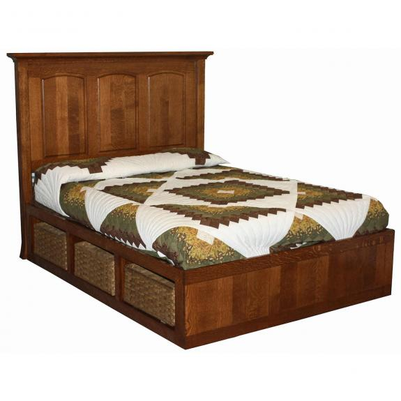 Homestead Storage Bed with Baskets