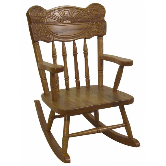 Sunburst Childs Rocker