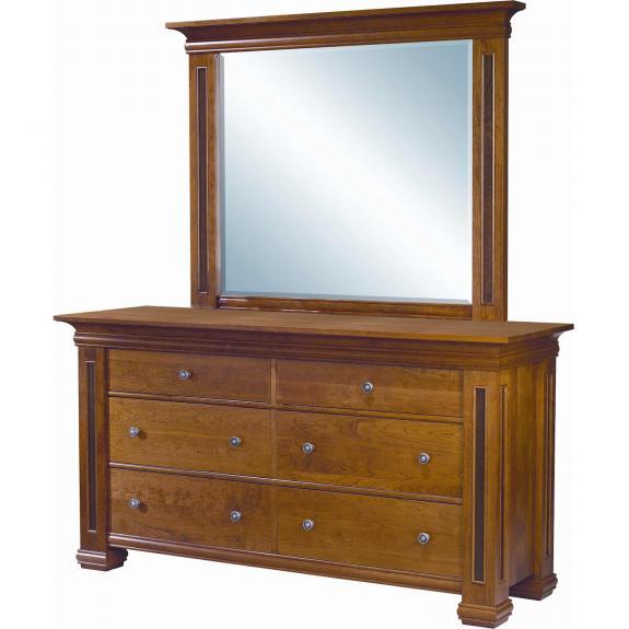 Timber Ridge Bedroom Set 6 Drawer Dresser