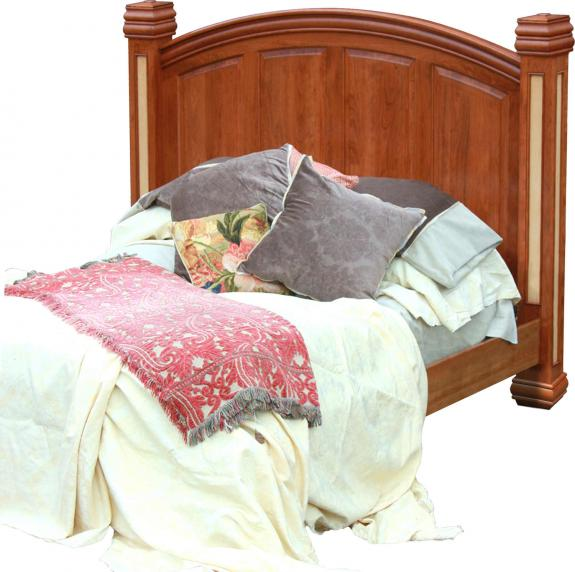 Timber Ridge Bedroom Set Arched Panel Bed