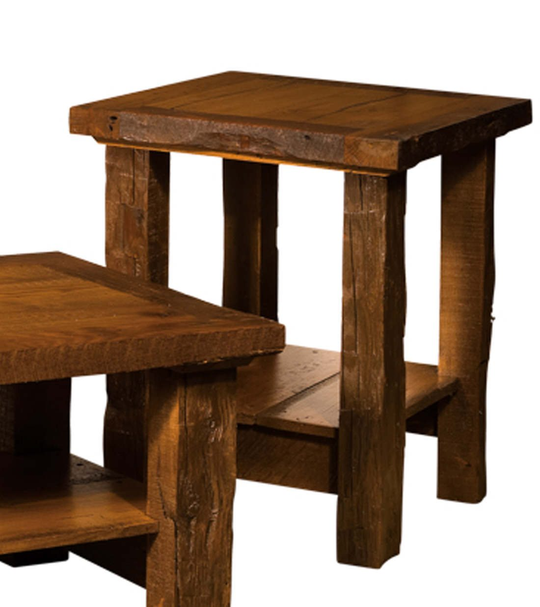 Timber Frame Occasional Tables 455 End Table