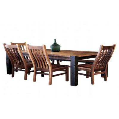 Timber-Ridge-Dining-Table-and-Mission-Chairs