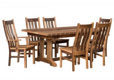 Tower-Dining-Table-with-Mission-Chairs