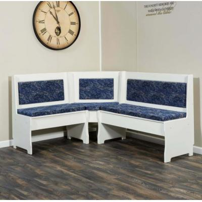Traditional-Nook-Set-Upholstered-Benches