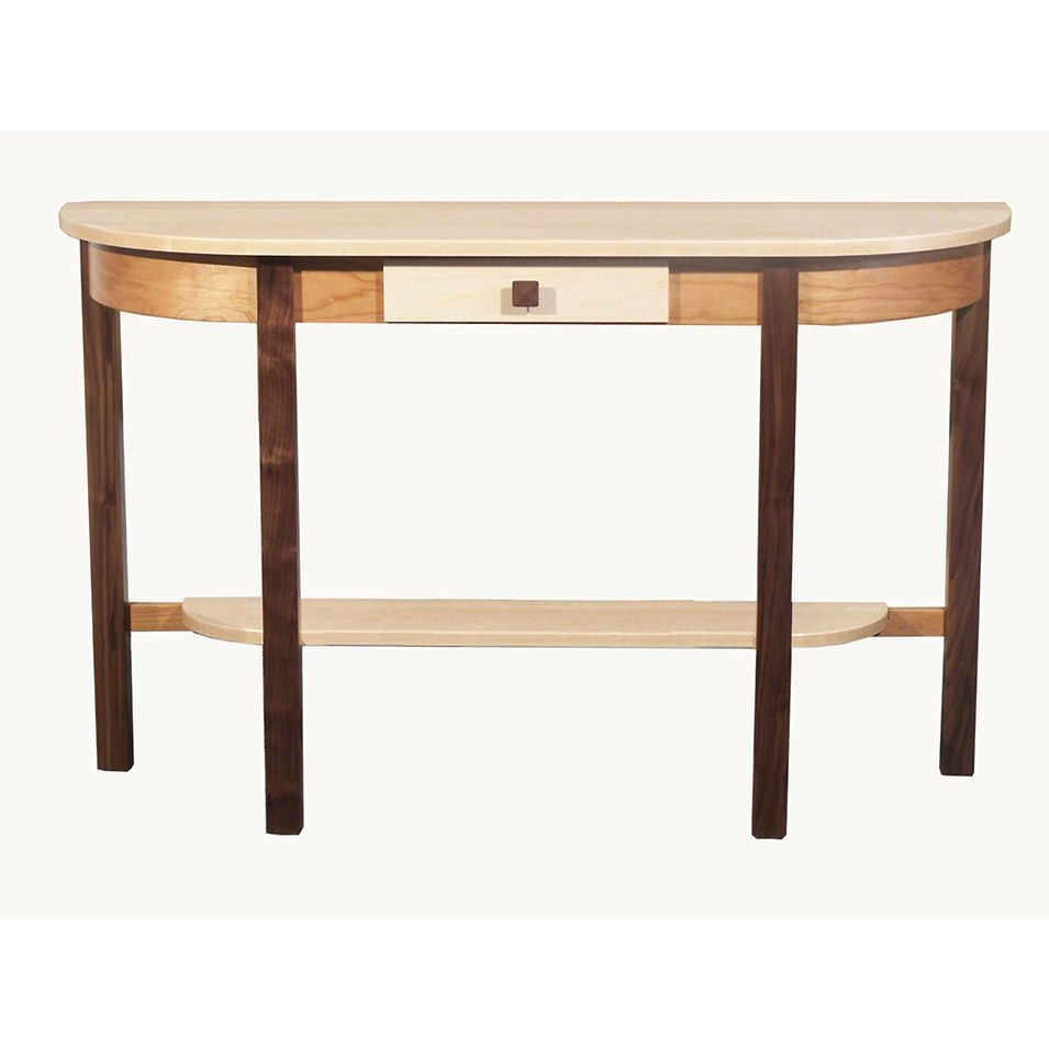 Tri-Wood Occasional Tables 2061 Half Oval Table
