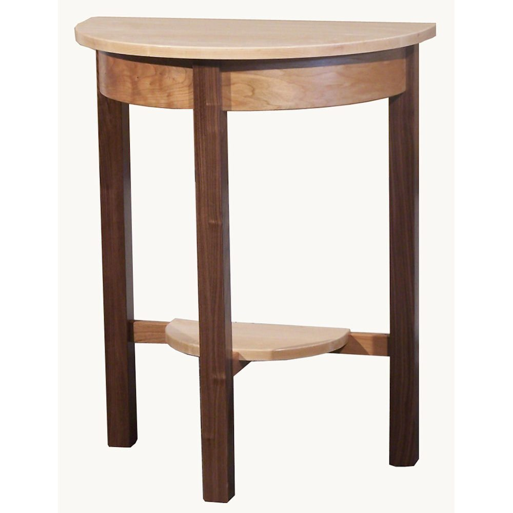 Tri-Wood Occasional Tables 2063 Half Round Table