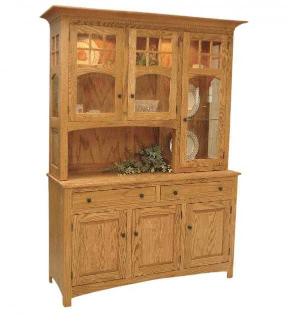 Tribecca Open and Closed Dining Hutch