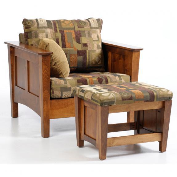 5002 Urban Shaker Chair and Ottoman