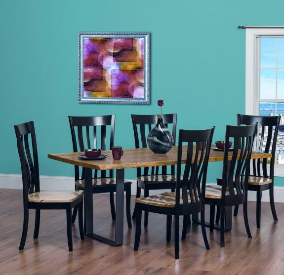 Urban Dining Room Table Clear Creek Amish Furniture