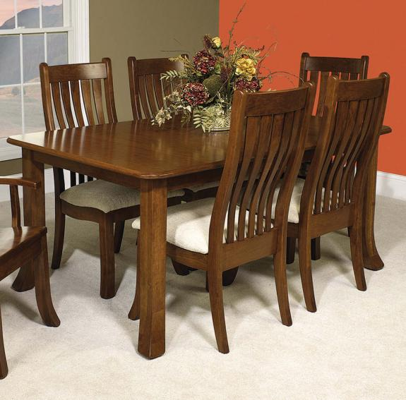 Utica Dining Room Collection Utica Harvest Table
