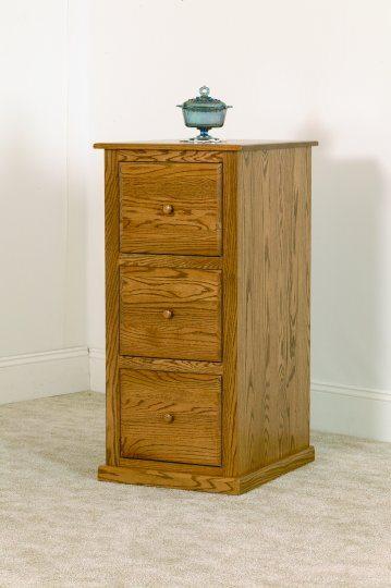 K-743 Three Drawer File Cabinet
