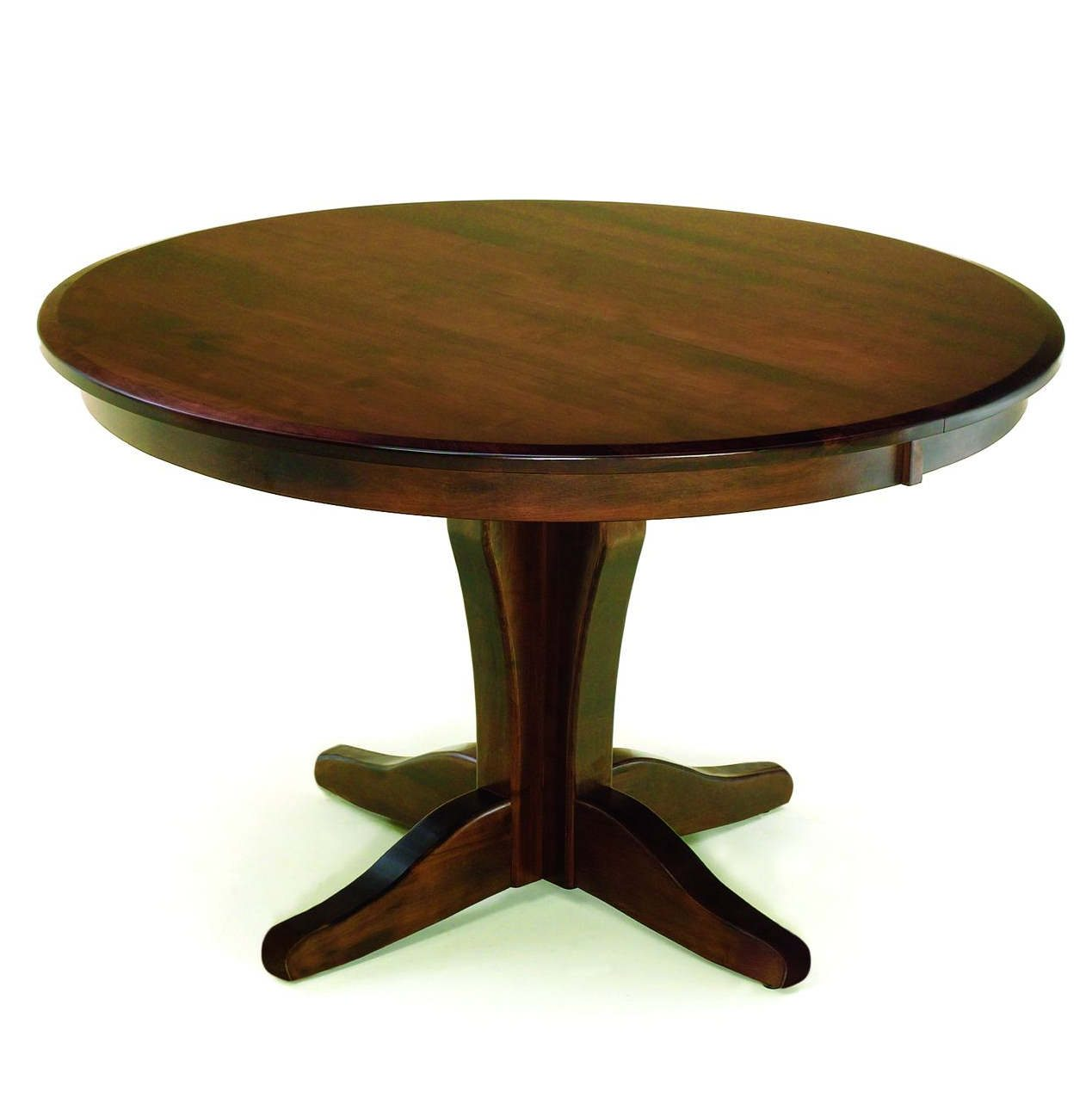 Vintage Round Dining Table Clear Creek Amish Furniture