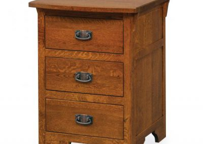 Vintage_Mission_3_Drawer_Nightstand