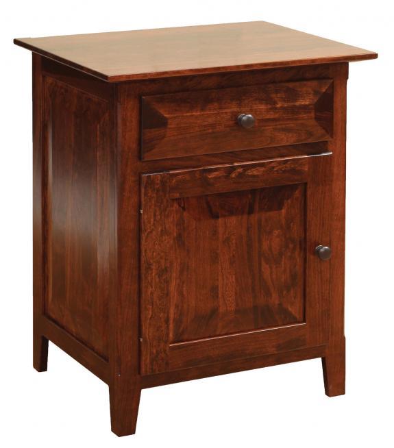 Worthington Bedroom Set Nightstand with Door