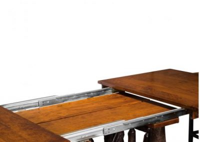 Wagon-Wheel-Trestle-Table-open
