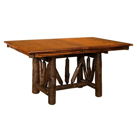 240 Wagon Wheel Trestle Table