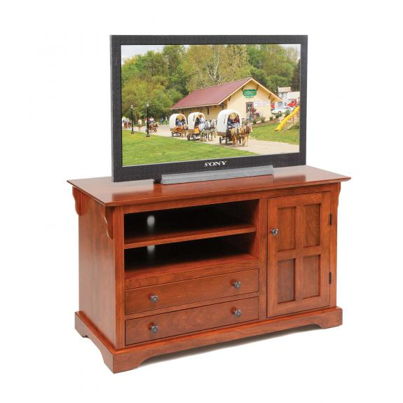 """954-A 45.5"""" Solid Wood TV Stand"""