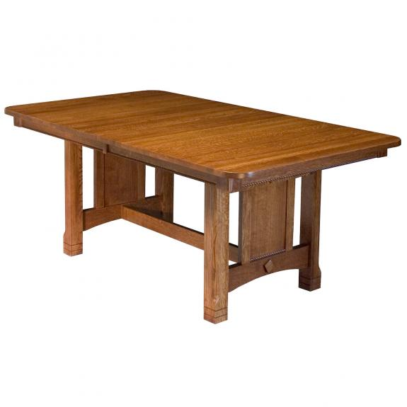 T-74 West Lake Trestle Dining Table