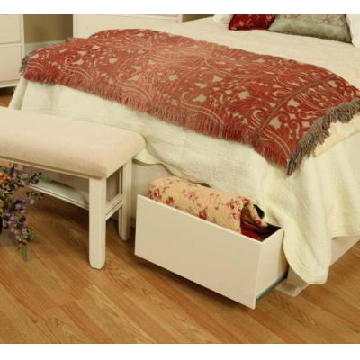 White-Storage-Bed-End