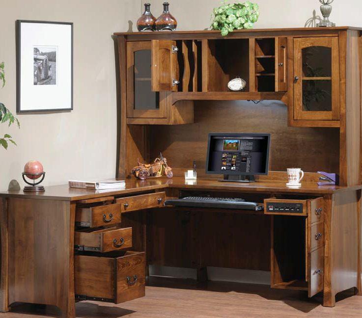 1550 Woodbury L-Shaped Desk