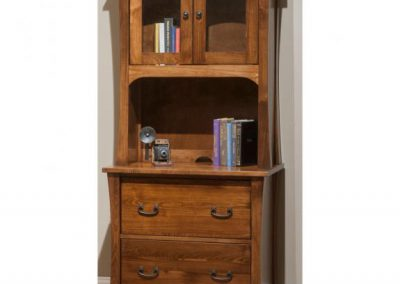 Woodbury-Lateral-file-with-Hutch