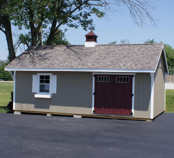 14 X 24 Quaker Storage Barn ON DISPLAY