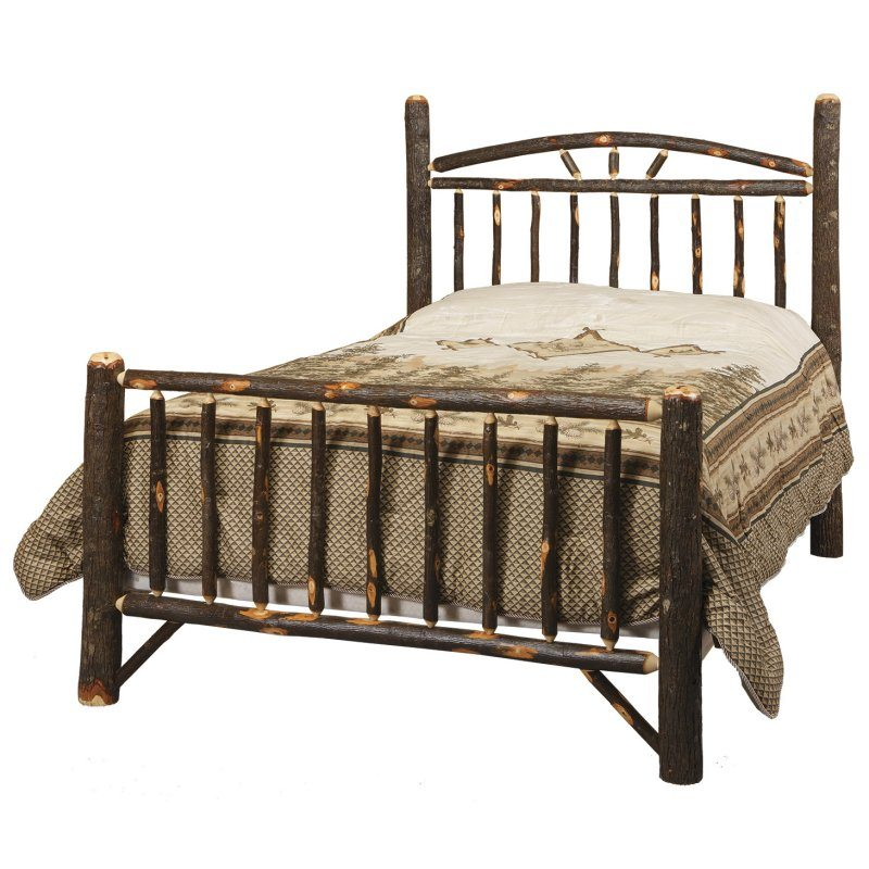 Rustic Log Bedroom Set CH-605 Log Beds