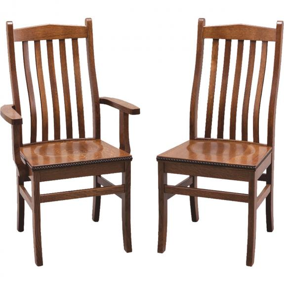 Bunker Hill Dining Collection G06-14/G06-15 Wood Dining Chairs