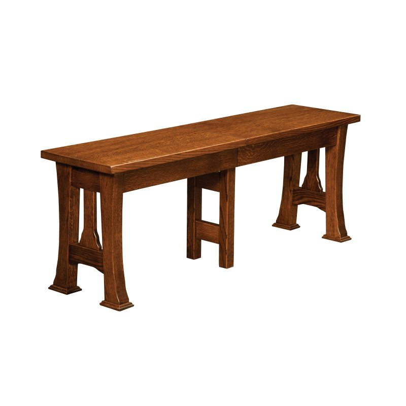 Cambridge Arts and Crafts Dining Benches