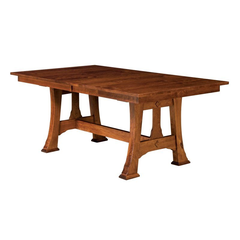 Cambridge Arts and Crafts Trestle Table