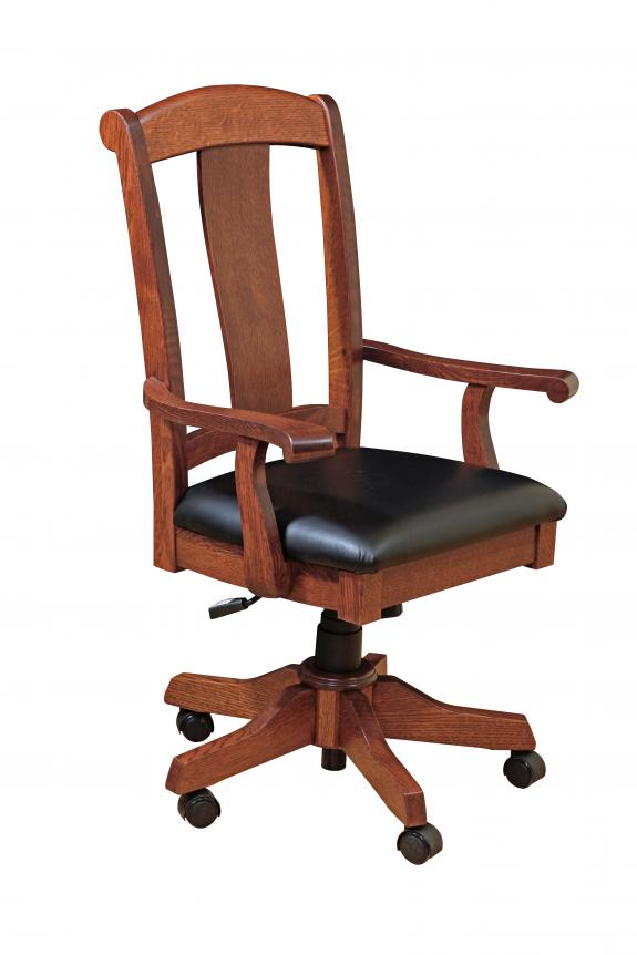 Master Leather Desk Chair
