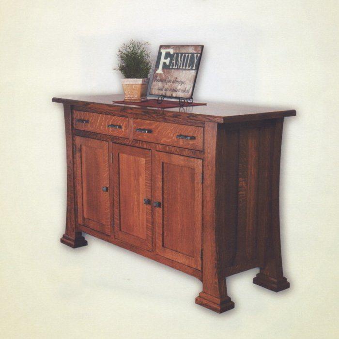 Christy Trestle Table Set Christy Amish Buffet
