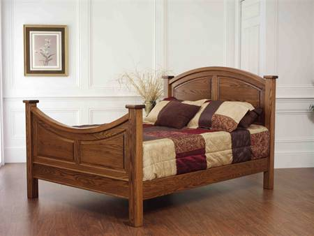 Colonial Gateway Panel Bed