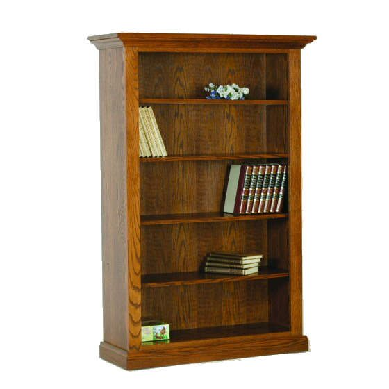 D-3660A Deluxe Open Bookcase