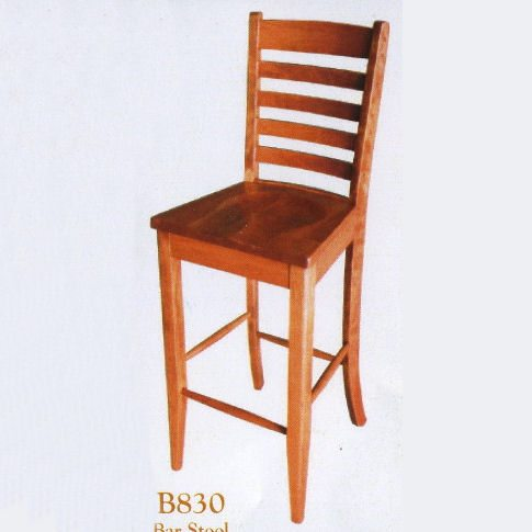 B830 Keller Ladder Back Bar Stool