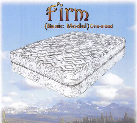 Firm 312 Coil One sided Mattress