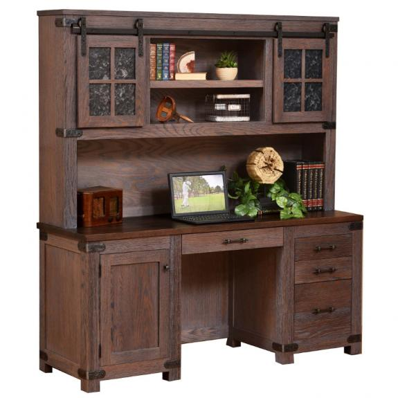 Georgetown Executive Office Set Georgetown Credenza & Hutch
