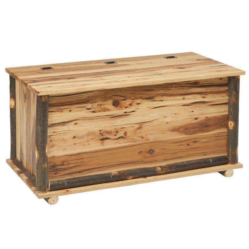 Rustic Log Bedroom Set CH-615 Blanket Chest